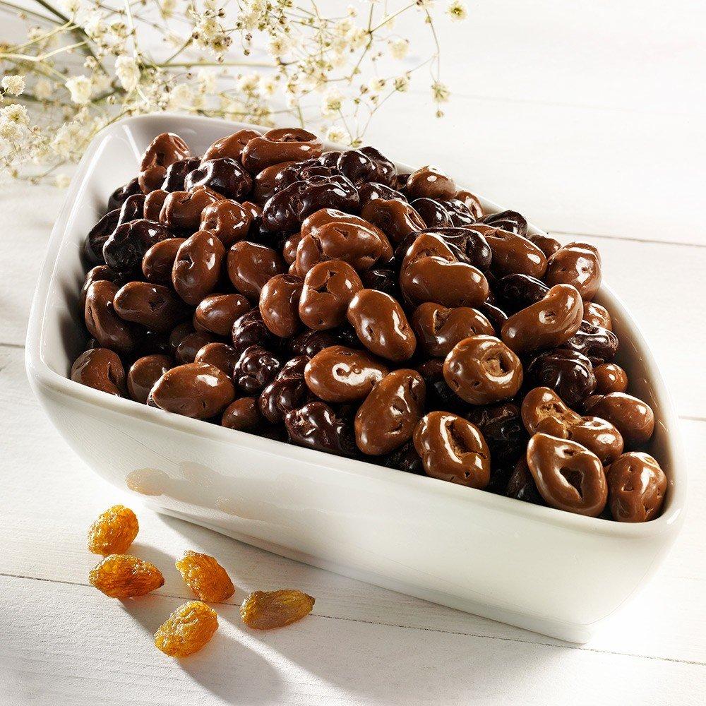 Schokoladen Rosinen