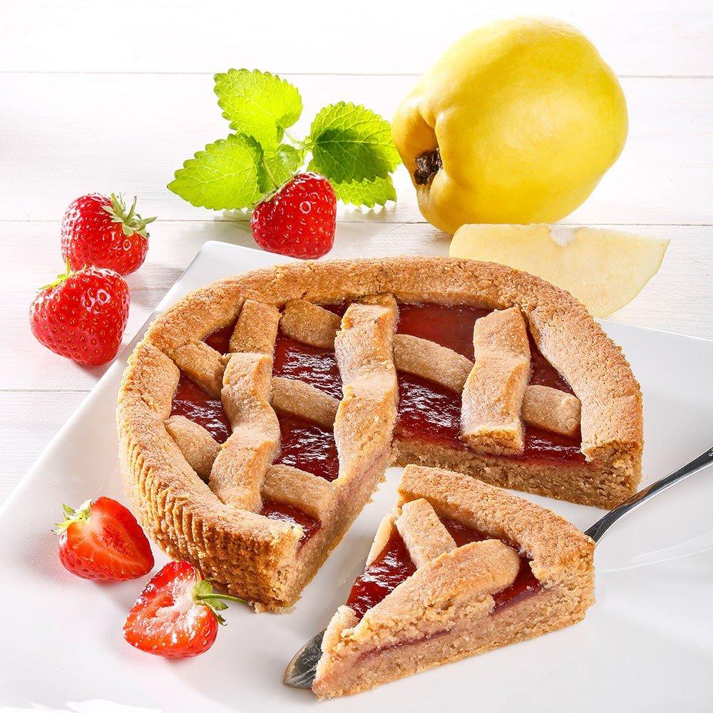 Autenrieth´s Dinkel-Erdbeer-Quitten Torte