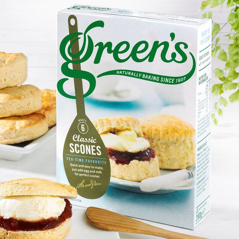 Scones Classic Backmischung von Green's