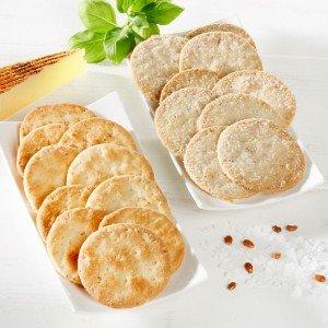 Ines Rosales Mini Tortas mit Manchego-Käse 2er-Set