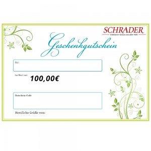 Gutschein über € 100,-