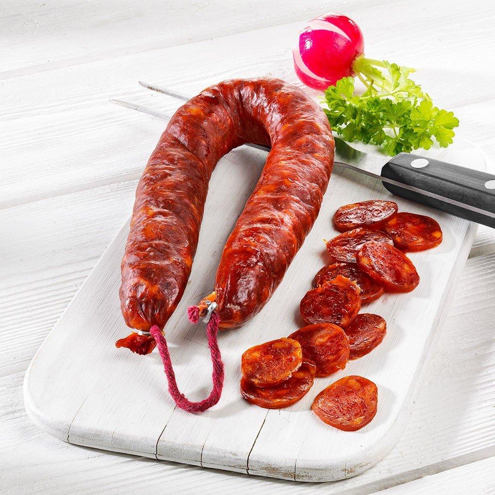 Spanische Chorizo Paprikasalami, im Stück