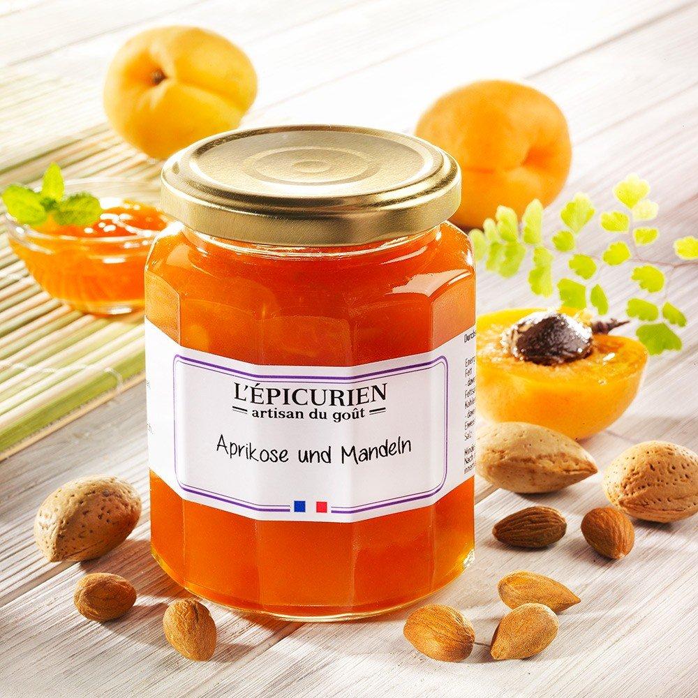 L'Epicurien Konfitüre Aprikose Mandeln