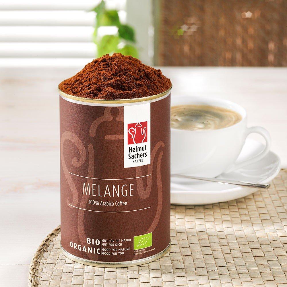 Helmut Sachers Kaffee Melange Bio, gemahlen