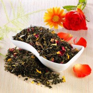 Rauf Tee aromatisierter grüner Tee Madame Butterfly
