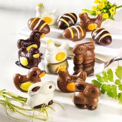 Schokolade, Pralinen, Marzipan & Gebäck