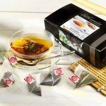 Teebeutel Schwarzer Tee Darjeeling Blend First und Second Flush Bio
