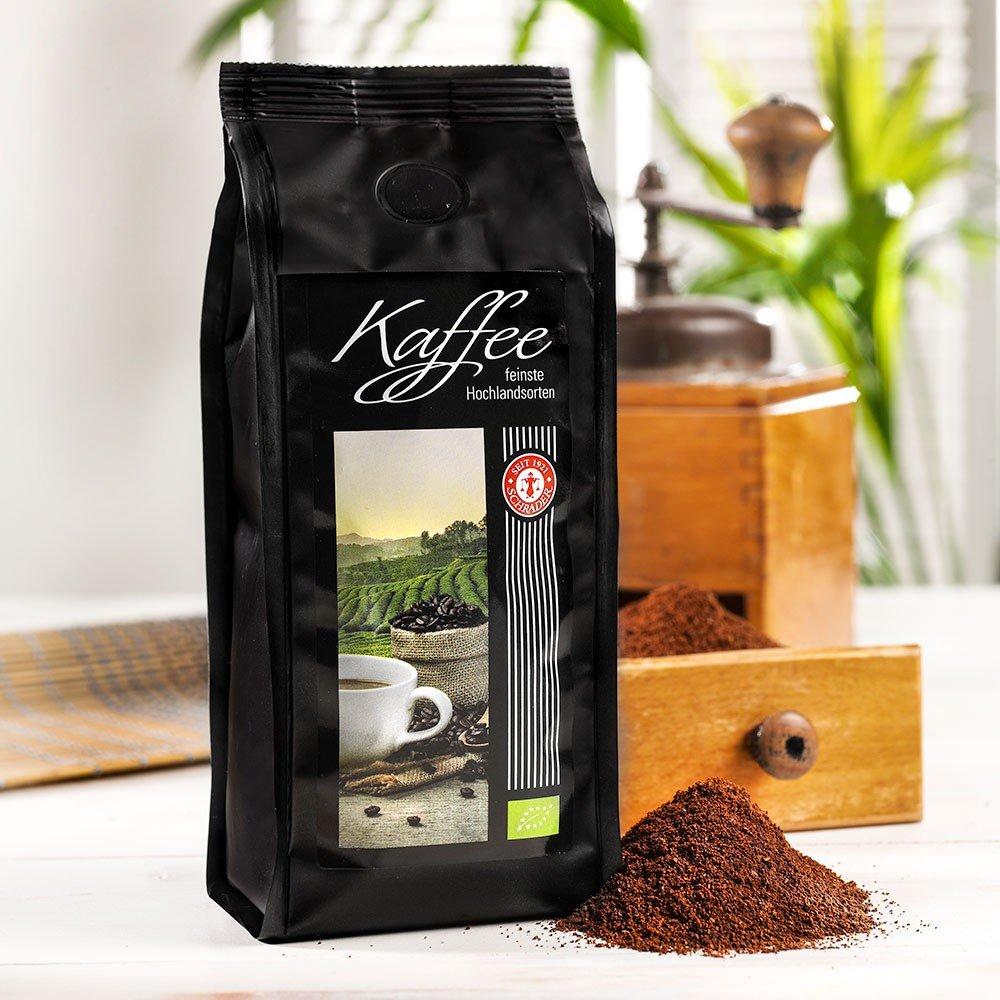 Kaffee Azuka entkoffeiniert Bio, gemahlen