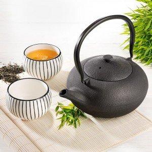Bredemeijer® Teekanne Shanxi mit 2 Porzellan Cups