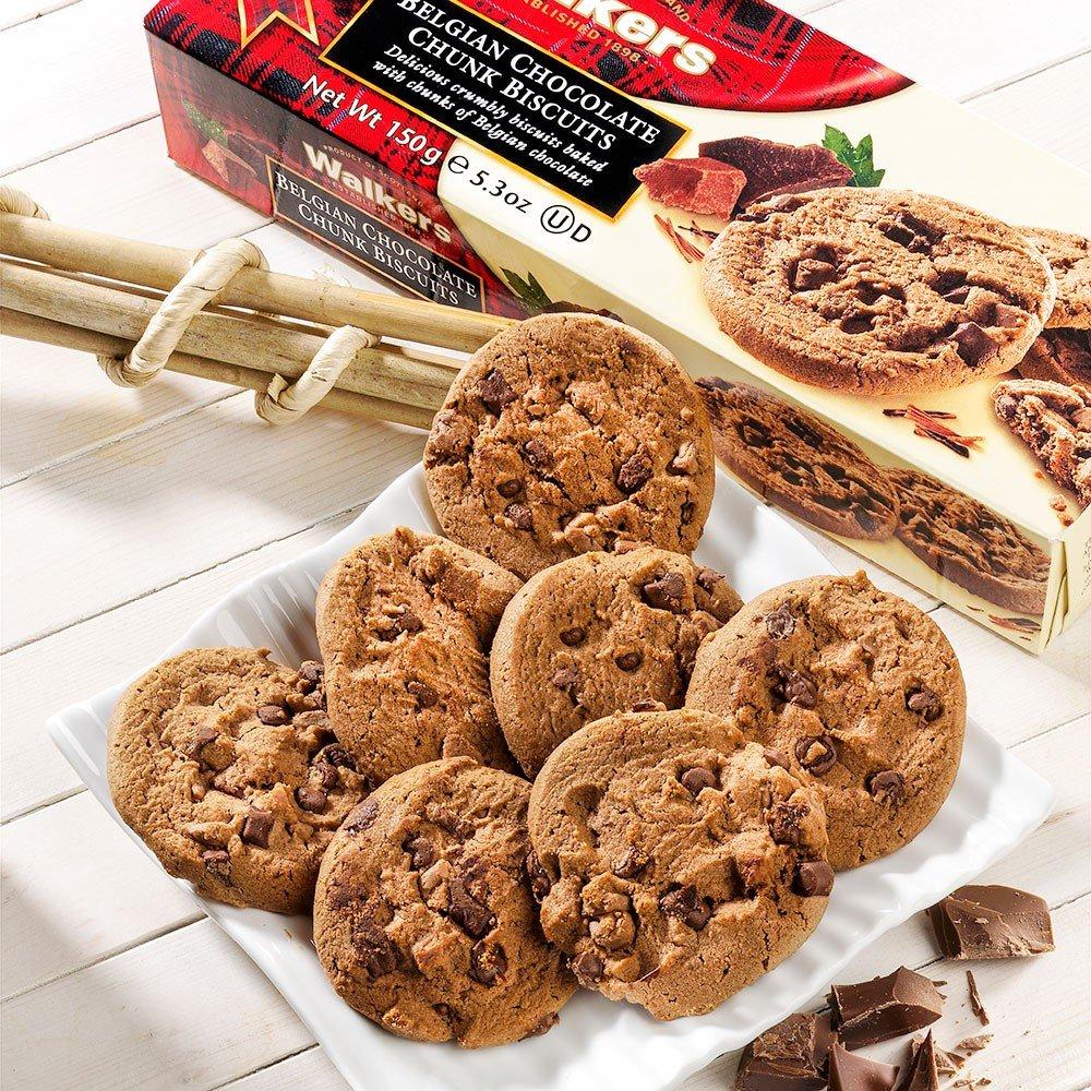 Walkers Biscuits mit belgischer Schokolade