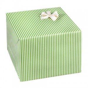 Geschenkverpackung Streifen