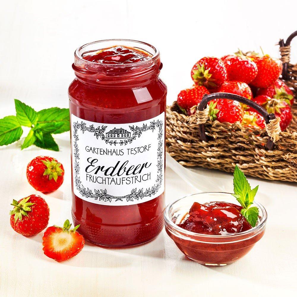 Erdbeer Fruchtaufstrich