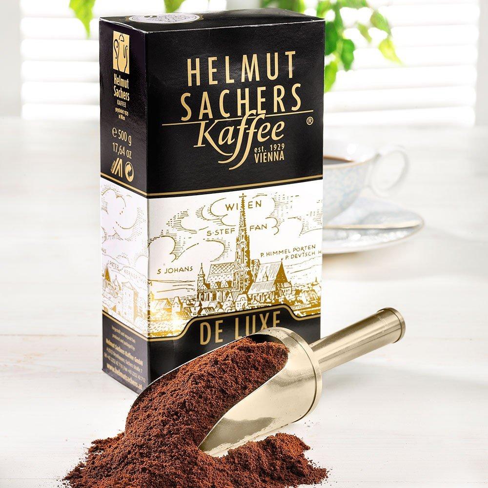 Helmut Sachers Kaffee De Luxe Mischung, gemahlen