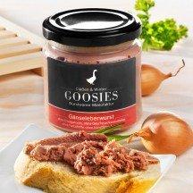Goosies goose liver sausage