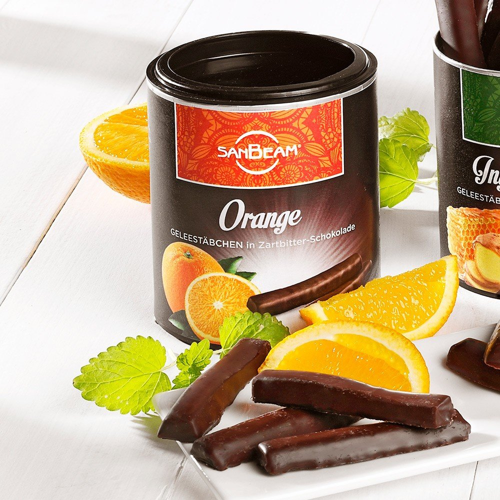 Orangen Geleestäbchen