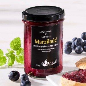 Lübecker Marzilade® Fruchtaufstrich Wildheidelbeer-Marzipan