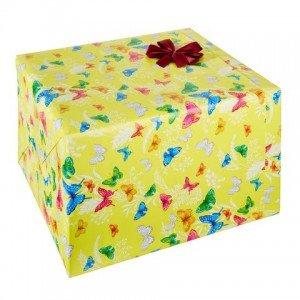 Geschenkverpackung Schmetterlinge
