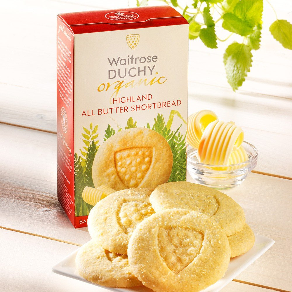 Duchy Originals Shortbread Butter Bio