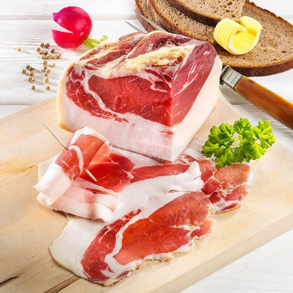 Edelschinken vom Bunten Bentheimer Schwein, im Stück