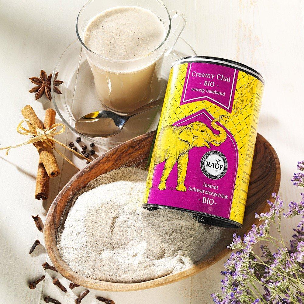 Rauf Tee Creamy Chai Instant Bio