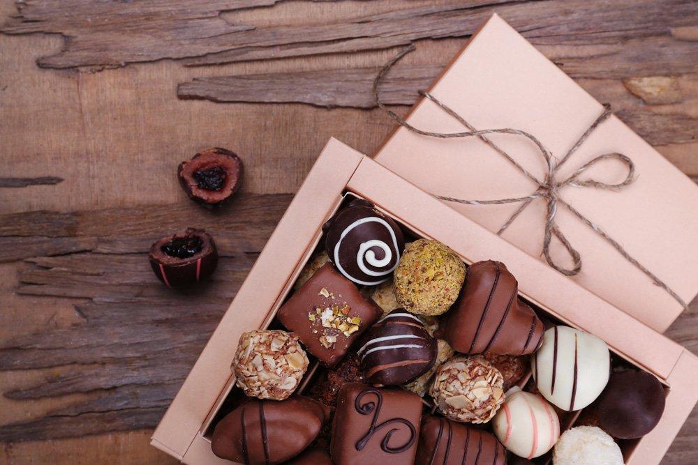 Pralinen-Schokolade