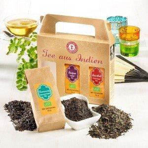 Schwarzer Tee aus Indien Bio 3er-Set