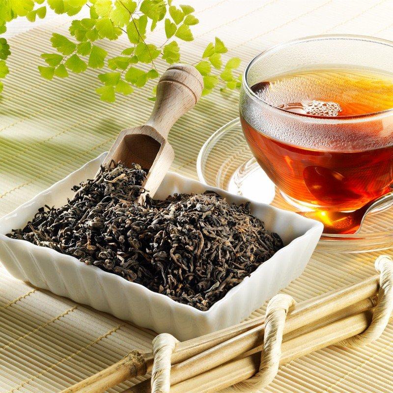 Schwarzer Tee Pu Erh Blatt