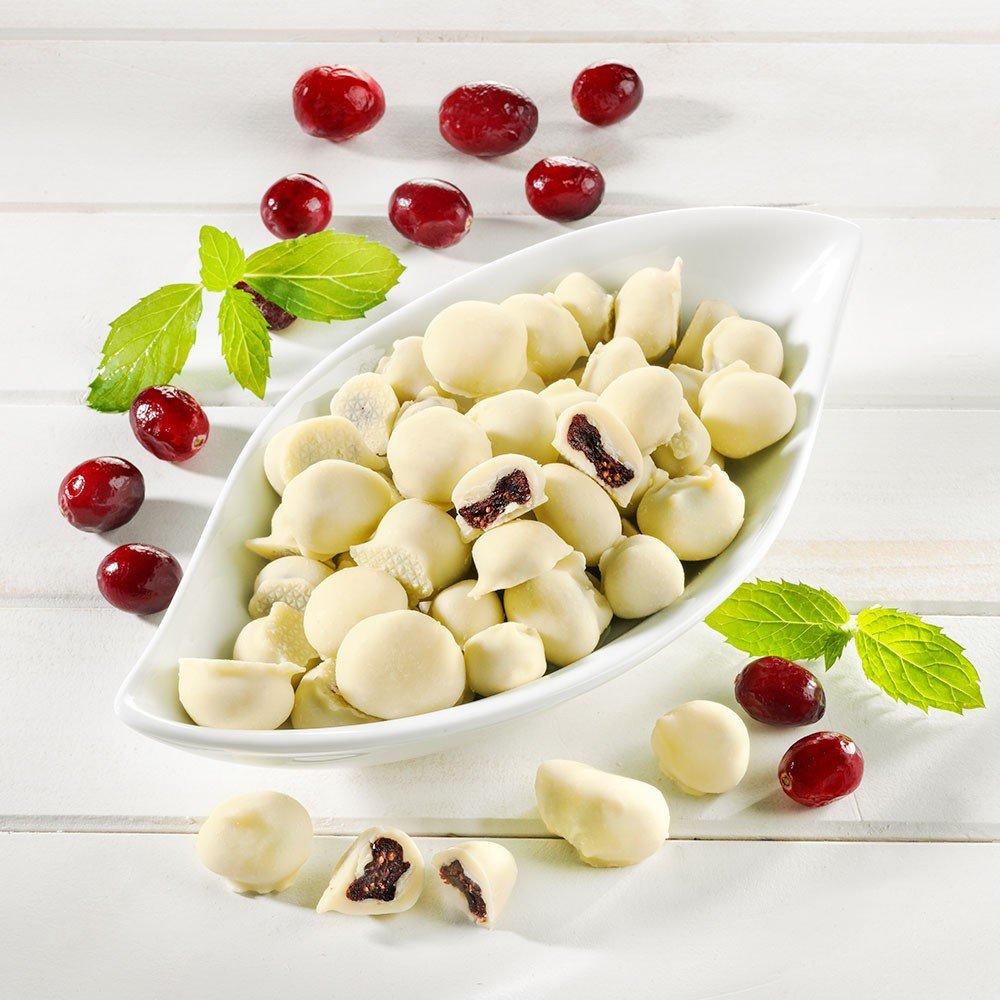 Sanbeam Cranberries in weißer Schokolade