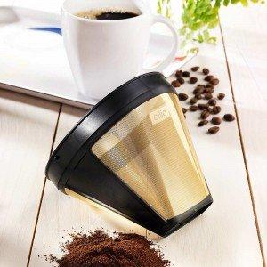 Cilio Kaffee Dauerfilter mit Goldauflage