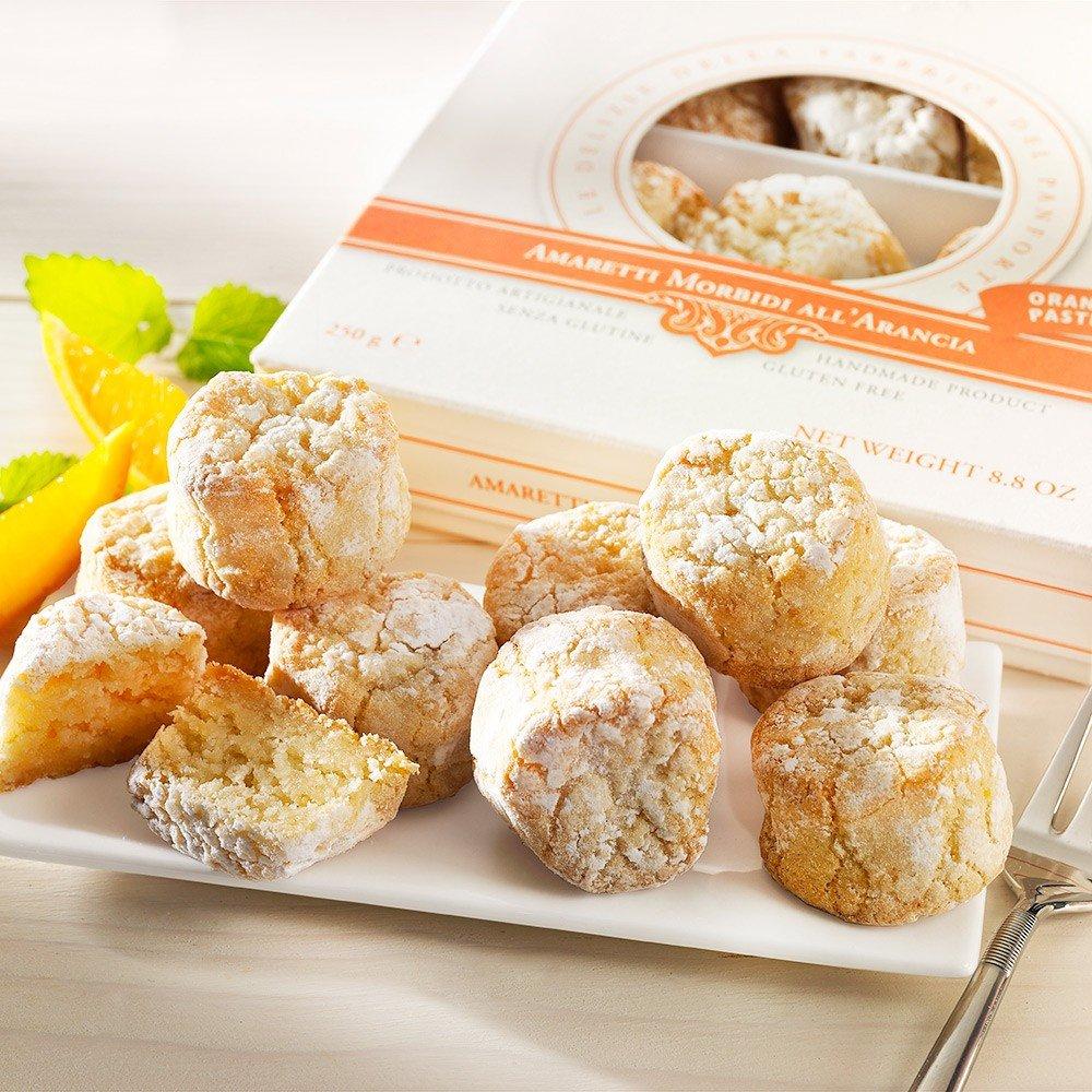 Weiche Amaretti mit Orangen