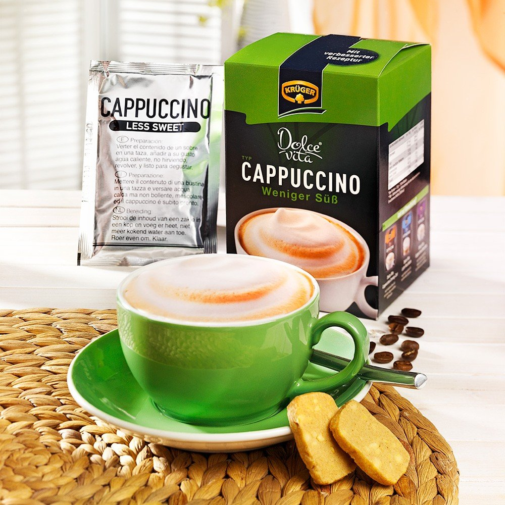Krüger Cappuccino weniger süß