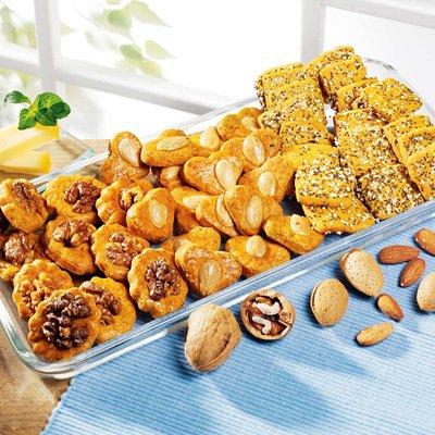 Cracker, Snacks & Käsegebäck