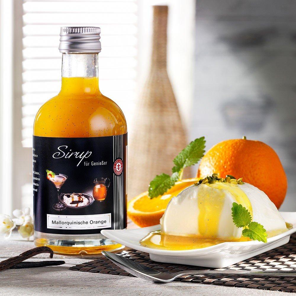 Sirup mit mallorquinischen Orangen & Tahiti Van...