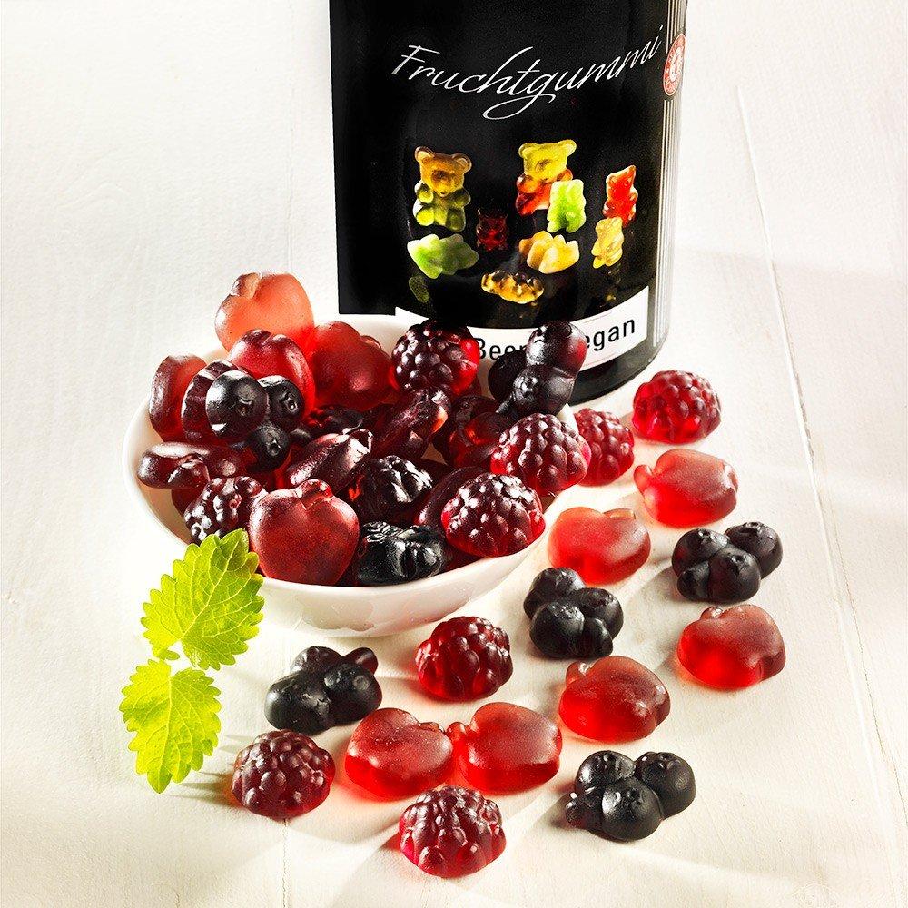 Fruchtgummi Rote Beeren vegan