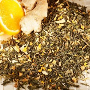 Grüner Tee Orange-Ingwer, natürlich