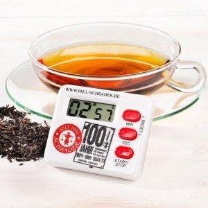 Tea Timer 100 Jahre Schrader