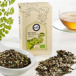 Rauf Tee Grüner Tee China White Pai Mu Tan Bio
