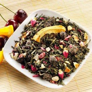 Sakuras Lächeln® Aromatisierter Grüner Tee