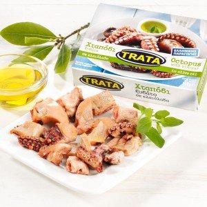 Trata Oktopus in Olivenöl