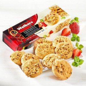 Walkers Erdbeer-Sahne-Biscuits