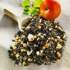Aromatisierter Grüner Tee Lotusblüte Aprikose