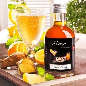 Sirup Ingwer Zitrone