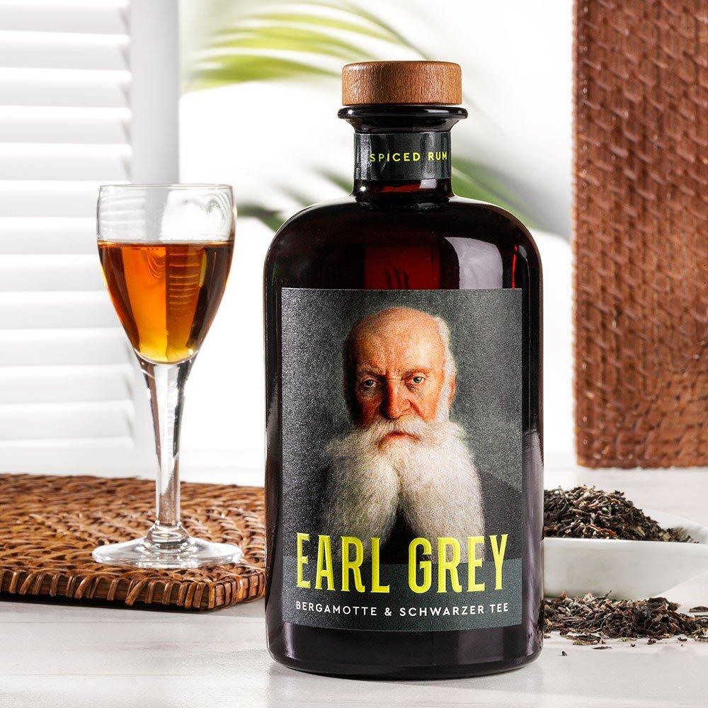 Earl Grey Spiced Rum