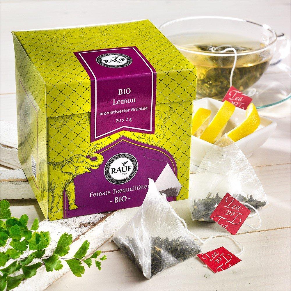Rauf Tee Grüner Tee Lemon Bio
