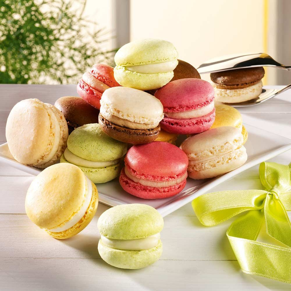 Macarons gemischt