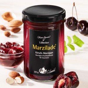 Lübecker Marzilade® Fruchtaufstrich Kirsch-Marzipan