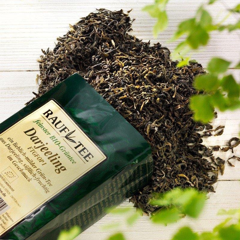 Rauf Tee Grüner Tee Darjeeling Green Bio