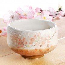 Matcha bowl cherry blossom