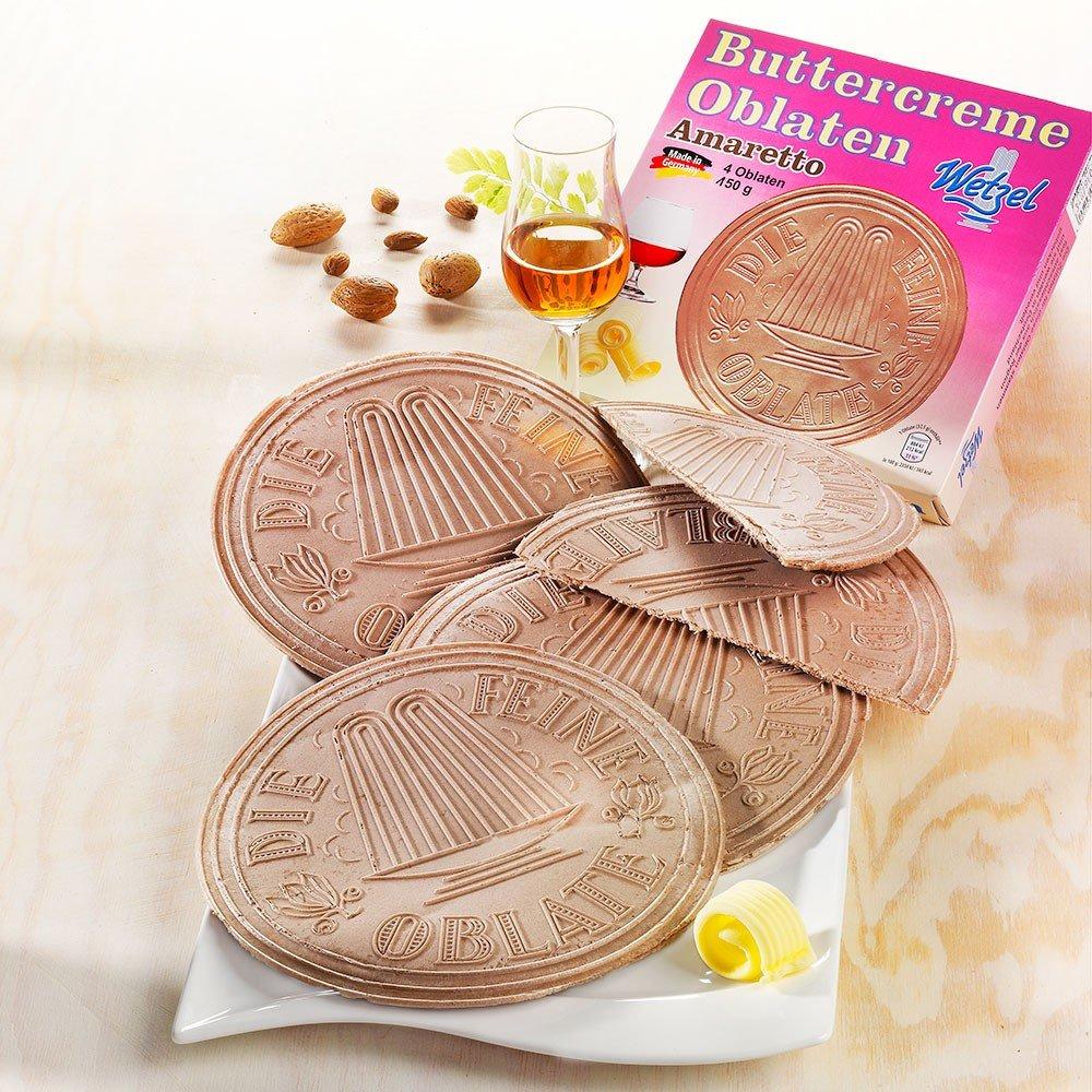 Wetzel Oblaten Buttercreme Amaretto 2er-Set