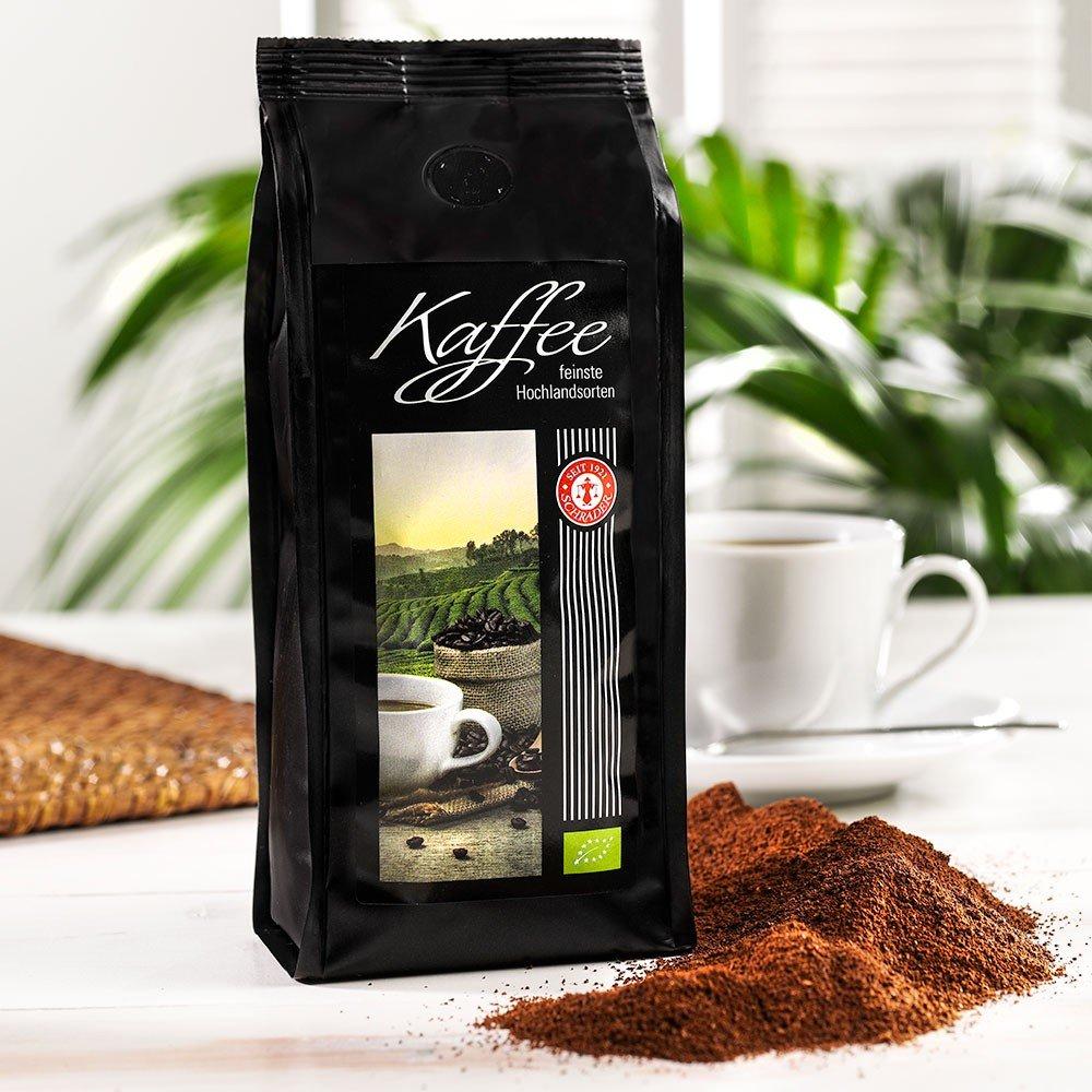Kaffee Hausmischung Bio, gemahlen